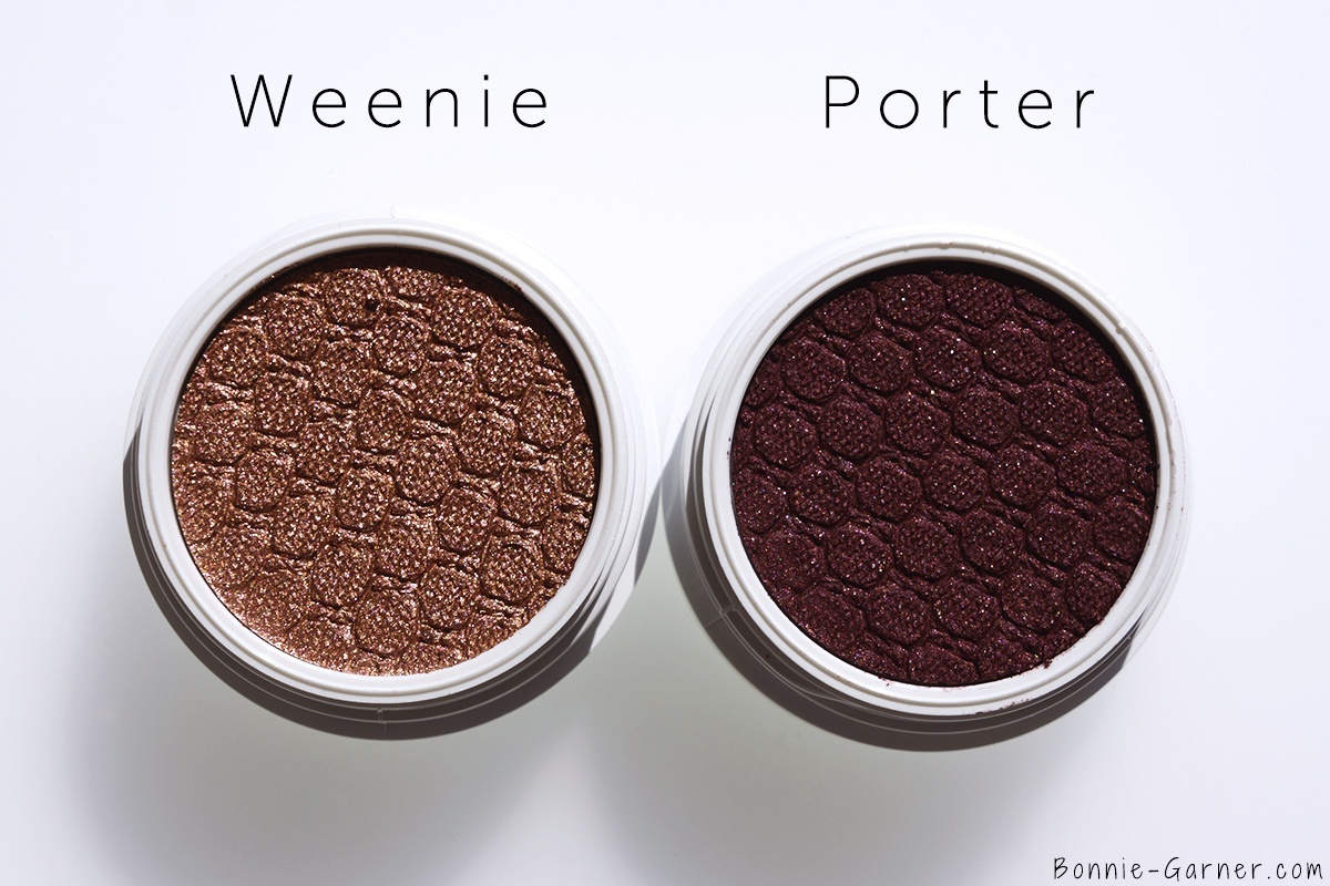 ColourPop X KathleenLights Where The Night Is: Weenie, Porter Super Shock Shadows