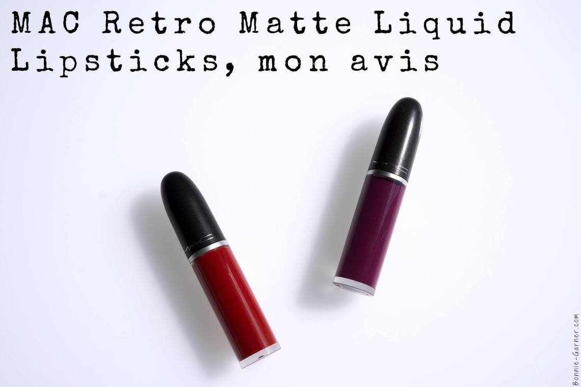 MAC Retro Matte Liquid Lipsticks, mon avis