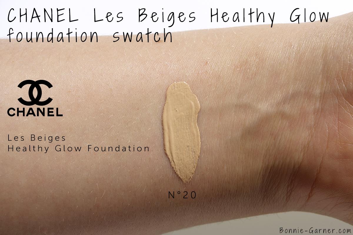 7a5db76fcb CHANEL Les Beiges Healthy Glow Foundation, my review | Bonnie Garner ...