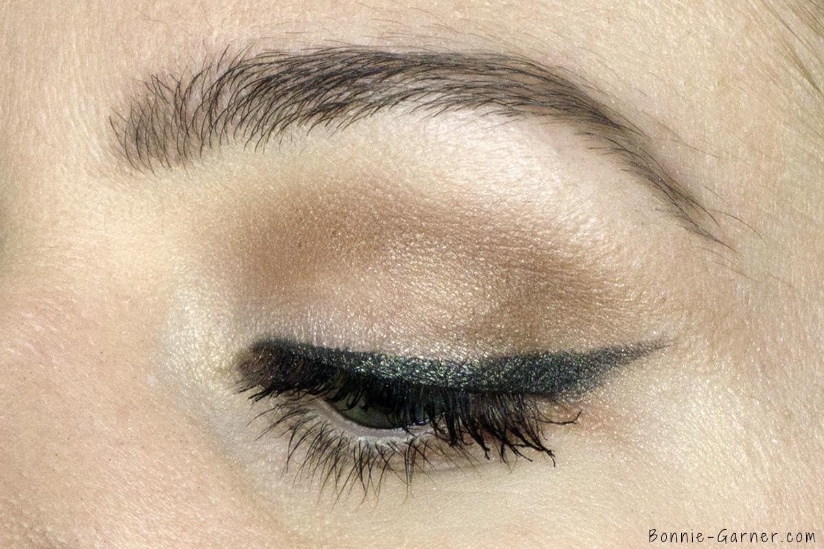 Too Faced Chocolate Bon Bons eyeshadow palette makeup look: Divinity, Mocha, Cashew Chew, Molasses Chip, Satin Sheets