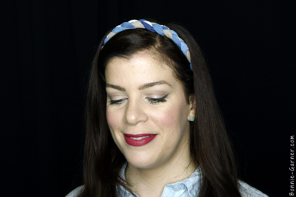 Too Faced Chocolate Bon Bons eyeshadow palette makeup look: Divinity, Pecan Praline, Cafe Au Lait, Satin Sheets