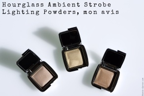 Hourglass Ambient Strobe Lighting Powders, mon avis