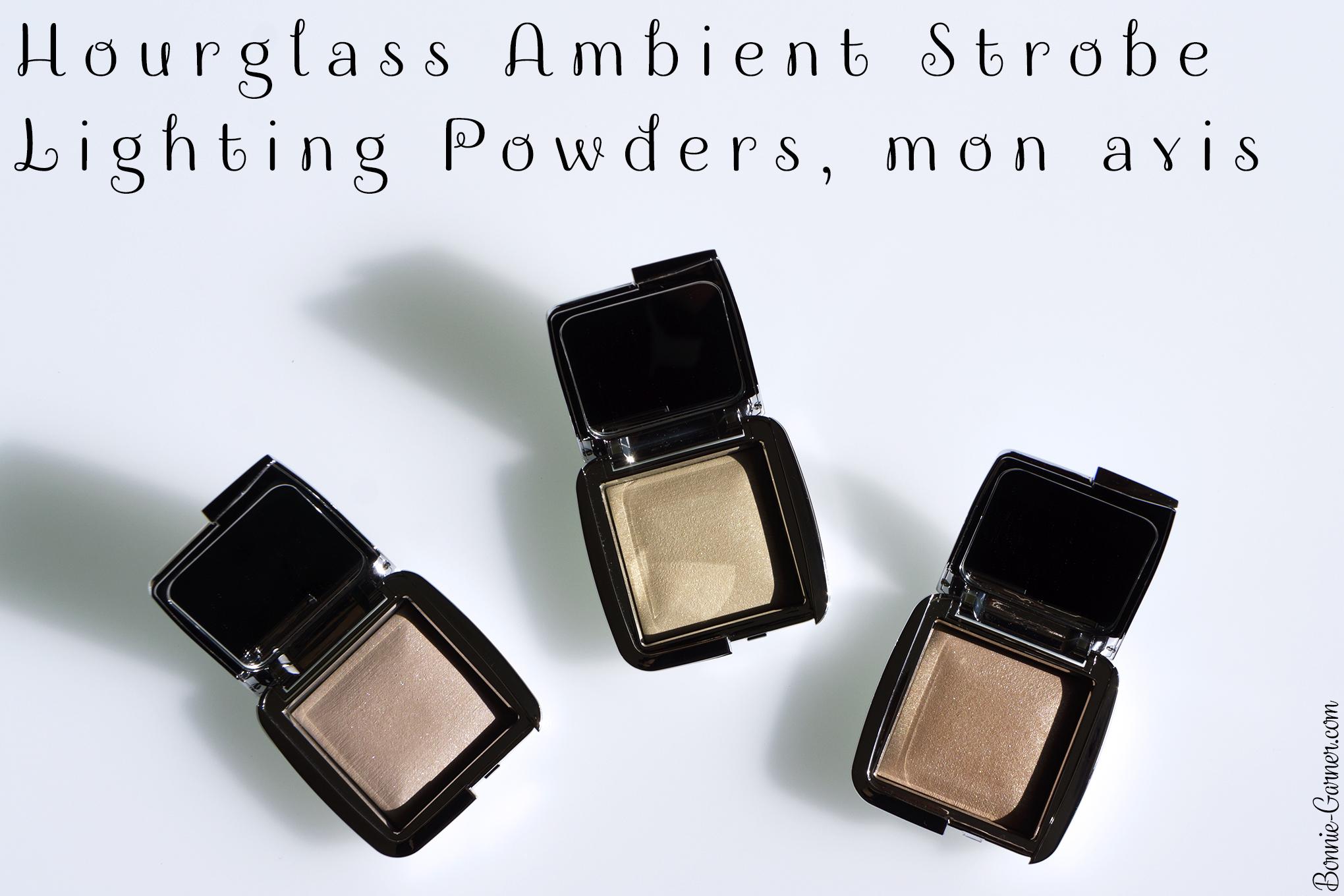 Hourglass Ambient Strobe Lighting Powders, mon avis
