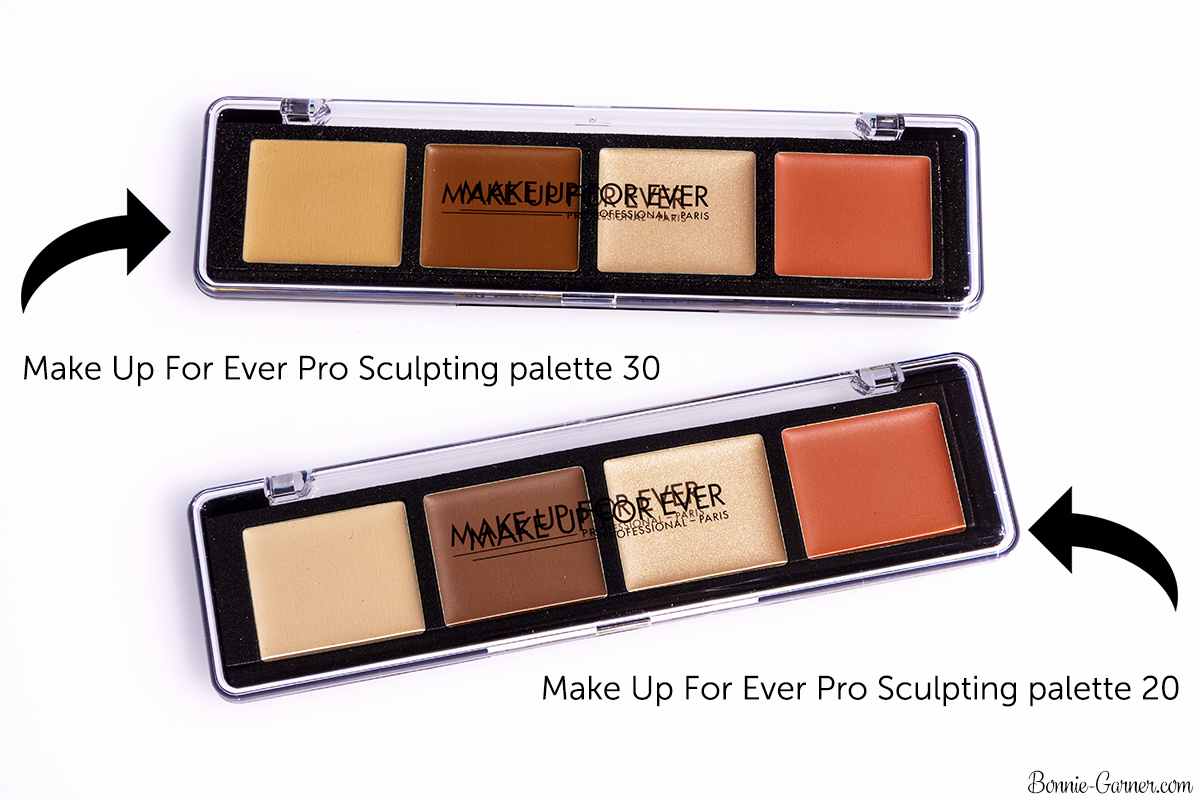 Make Up For Ever Pro Sculpting Palette #20 (Light) & #30 (Medium)