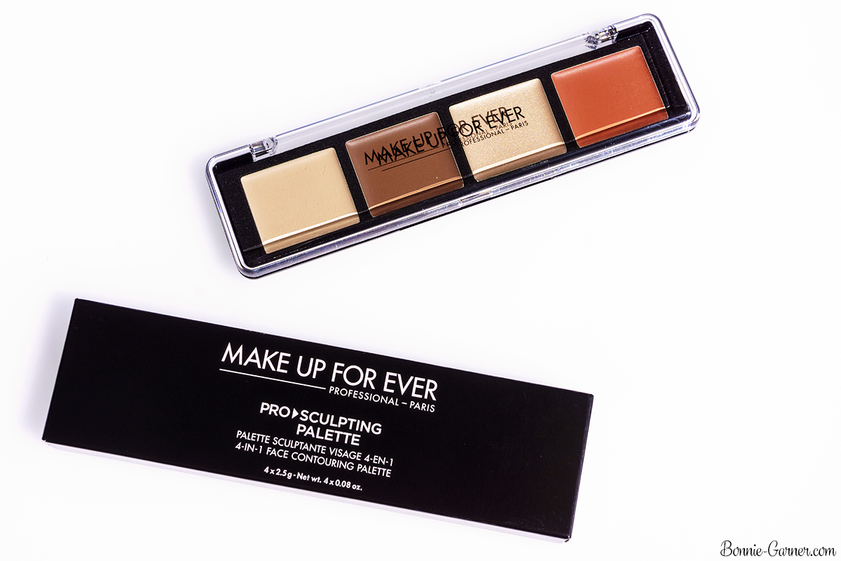 Make Up For Ever Pro Sculpting Palette #20 (Light) packaging