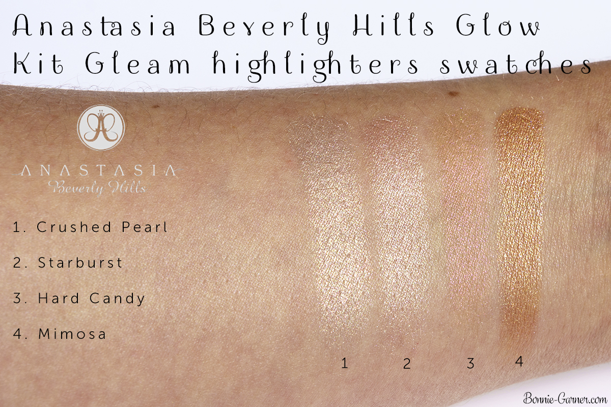 Anastasia Beverly Hills Glow Kit Gleam highlighters