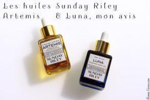 Les huiles Sunday Riley Artemis & Luna, mon avis