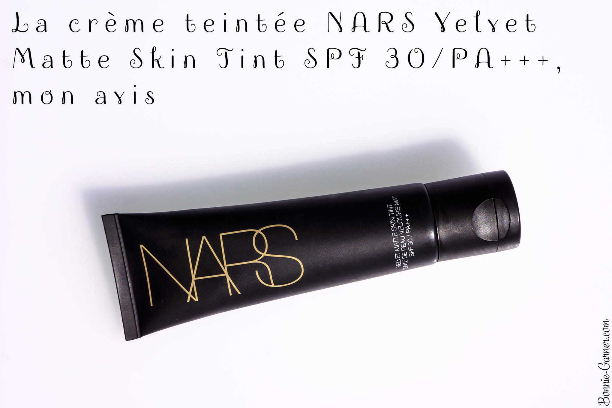 La crème teintée NARS Velvet Matte Skin Tint SPF 30/PA+++, mon avis