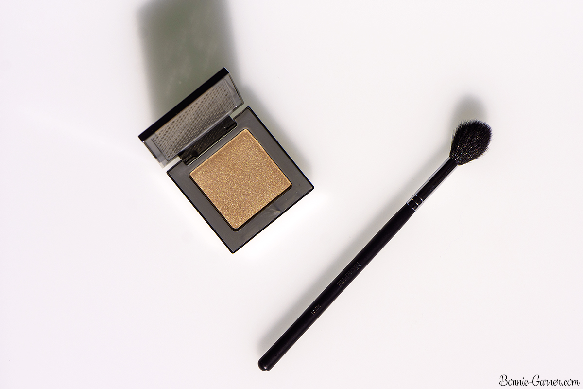 Urban Decay Afterglow Powder Highlighter 8-Hour Sin, Morphe M 501 brush
