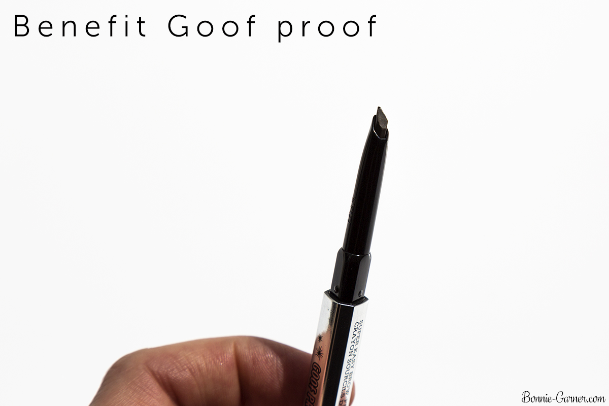 Benefit Brow collection: Goof proof brow pencil