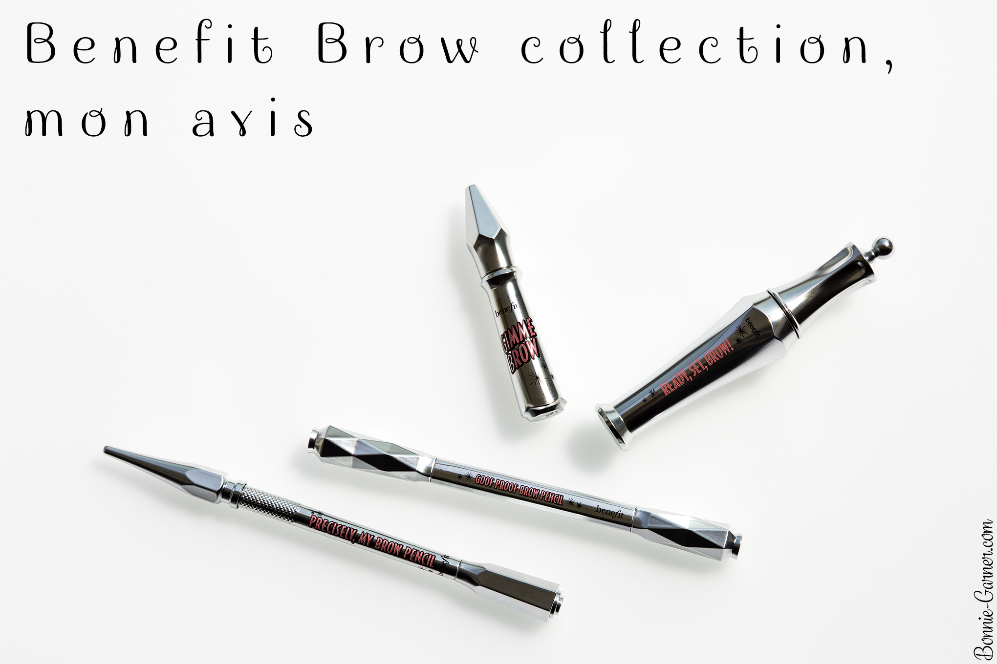 Benefit Brow collection, mon avis
