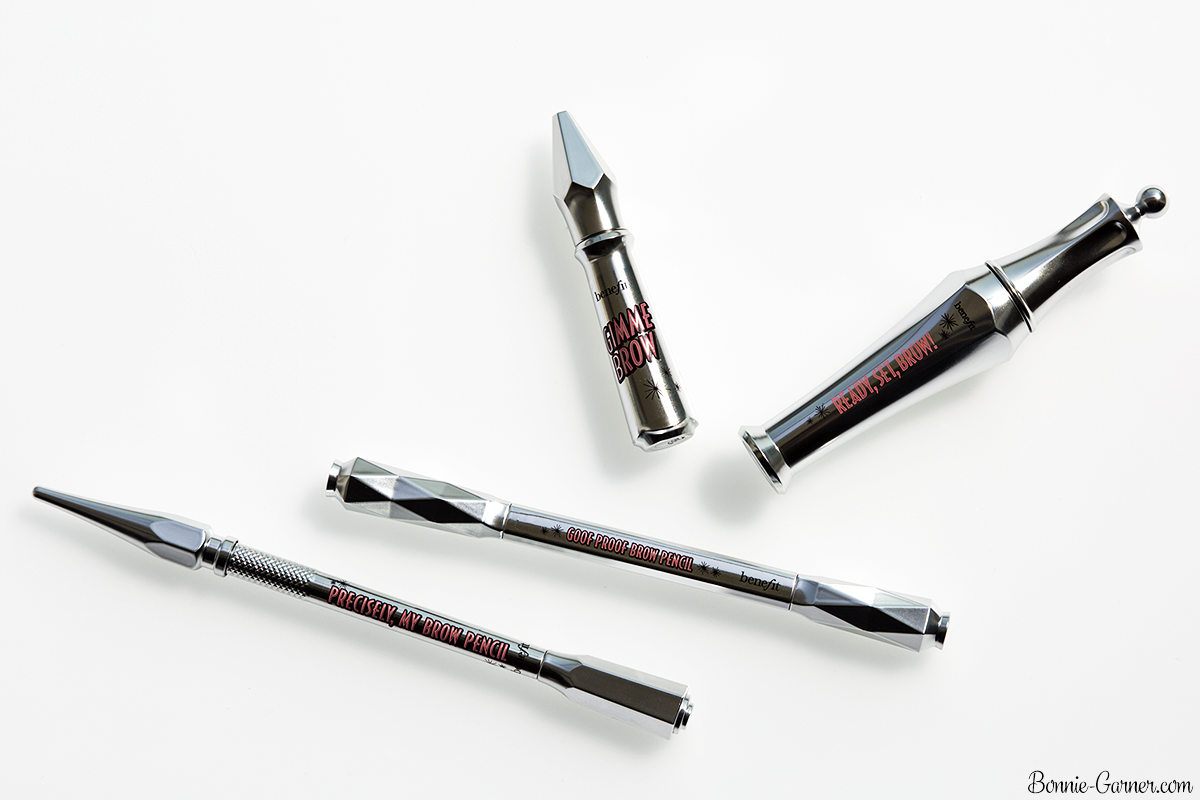 Benefit Brow collection: Gimme brow, Ready, set, BROW!, Goof proof brow pencil & Precisely, my brow pencil