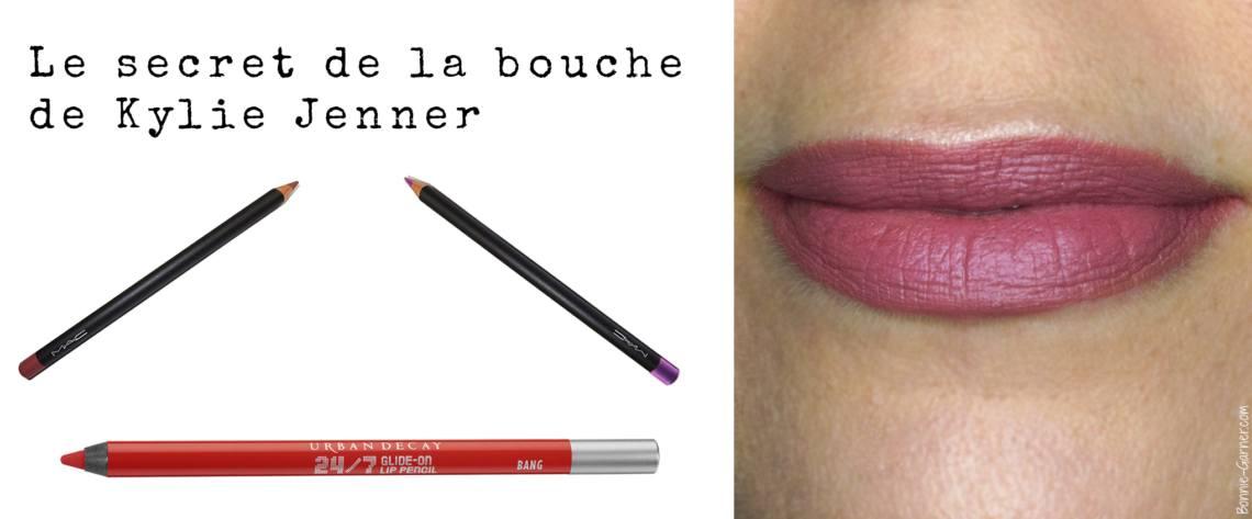 Le secret de la bouche de Kylie Jenner