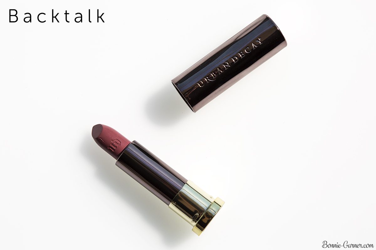 Urban Decay Vice lipsticks Backtalk