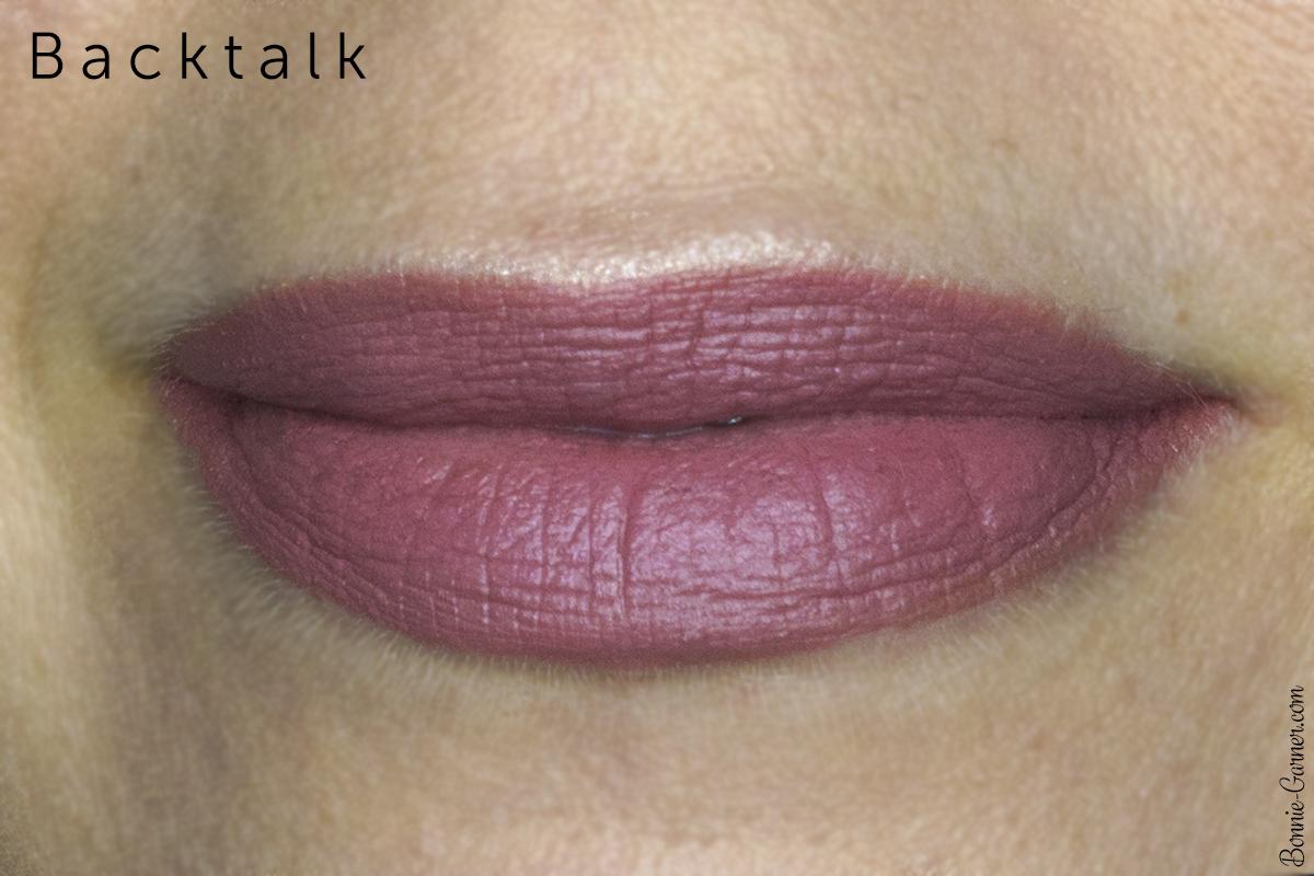 Urban Decay Vice lipsticks Backtalk