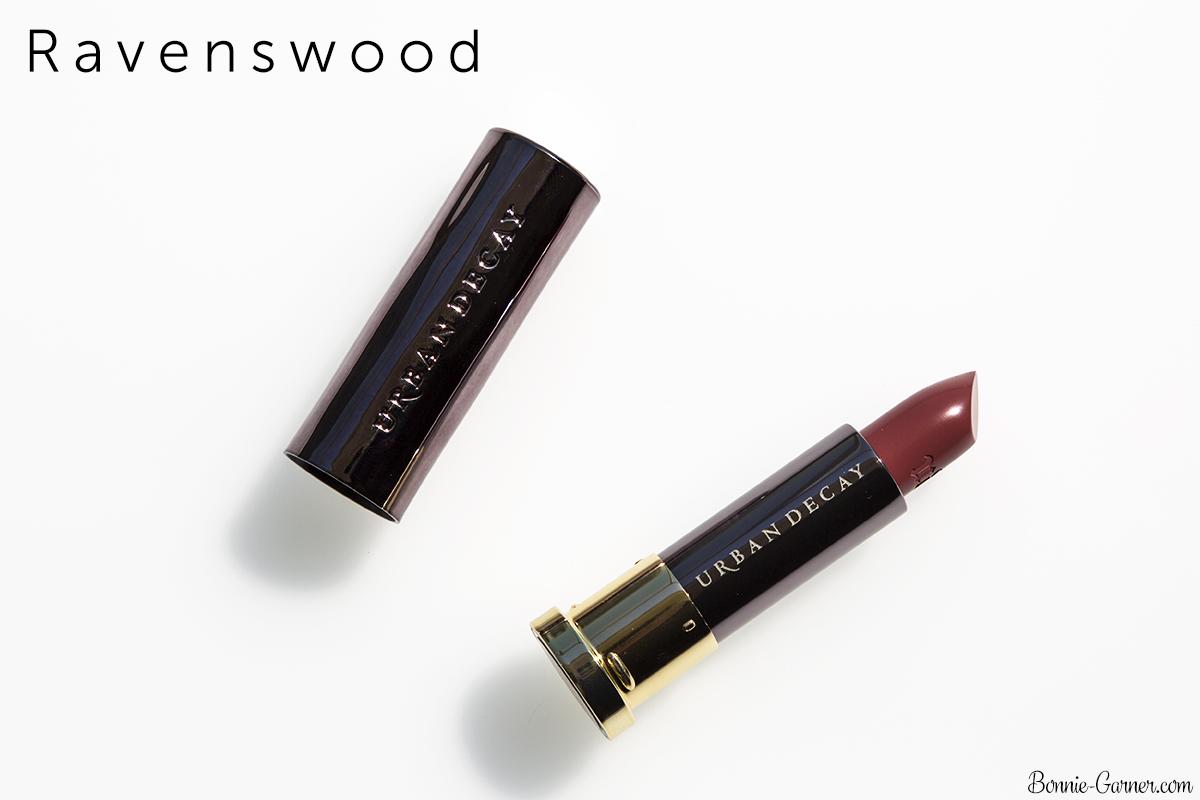 Urban Decay Vice lipsticks Ravenswood