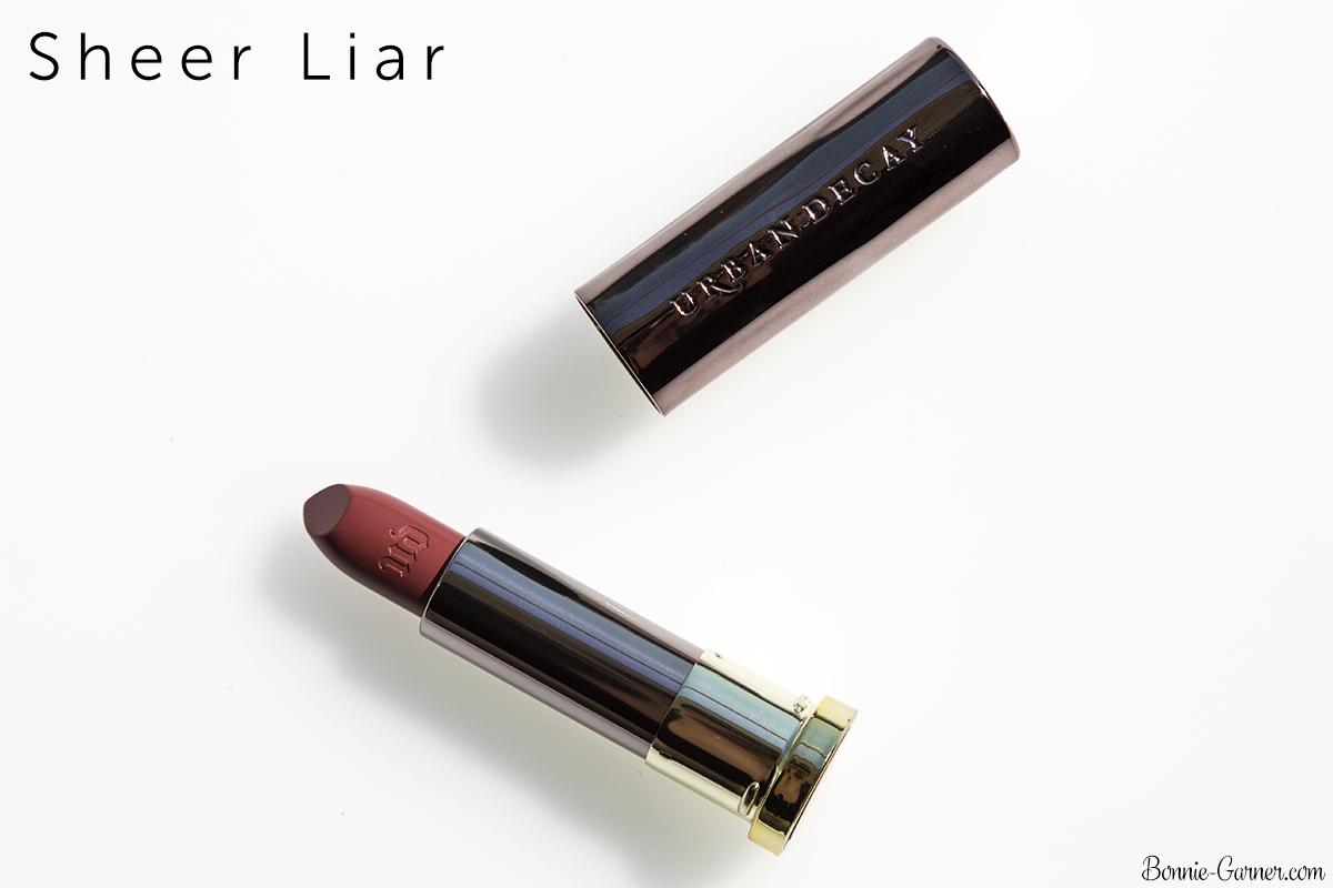 Urban Decay Vice lipsticks Sheer Liar