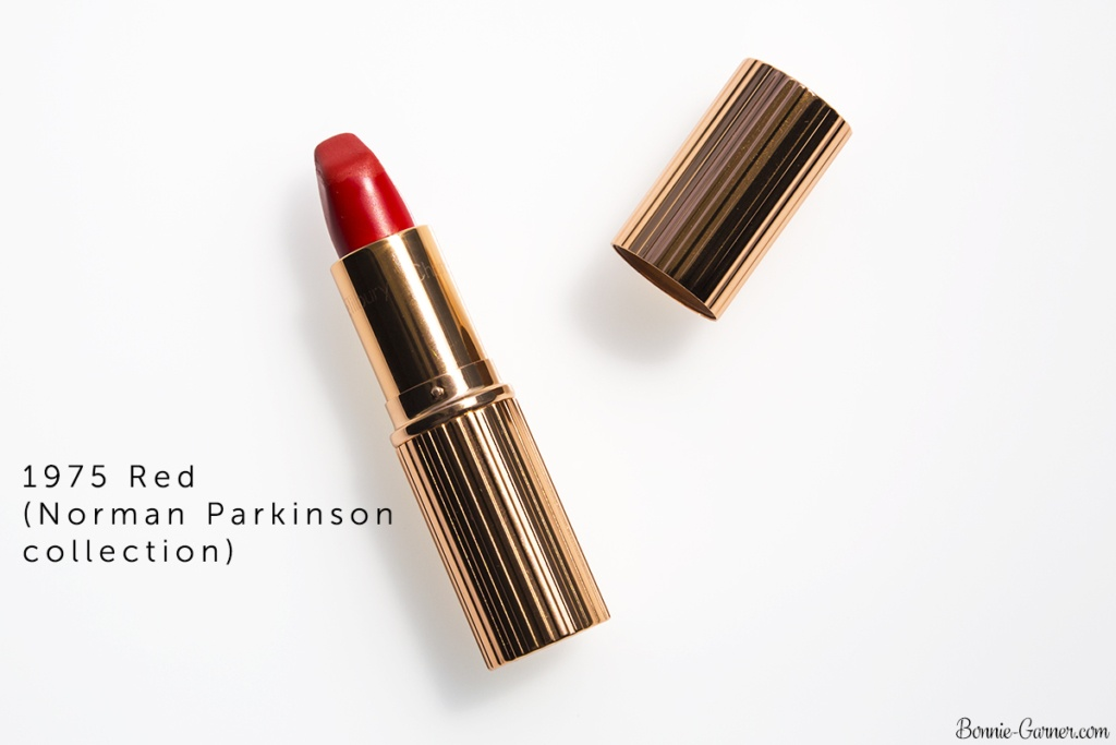 Charlotte Tilbury Matte Revolution lipstick 1975 Red (Norman Parkinson collection)