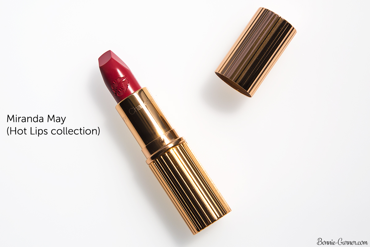 Charlotte Tilbury Matte revolution lipstick Miranda May (Hot Lips collection)