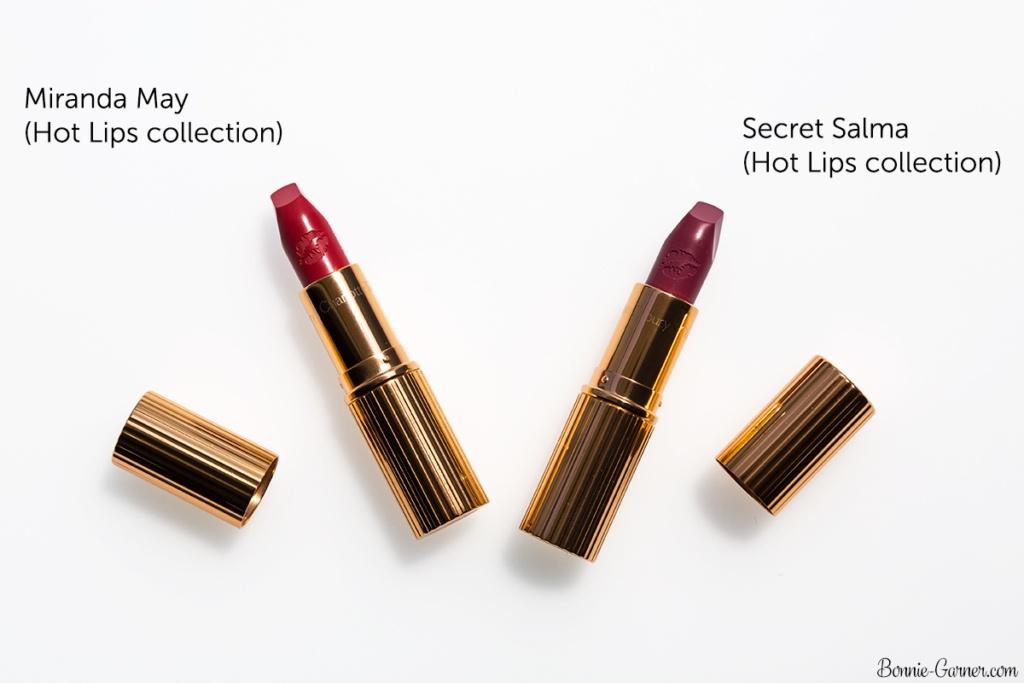 Charlotte Tilbury Hot Lips collection: Miranda May, Secret Salma