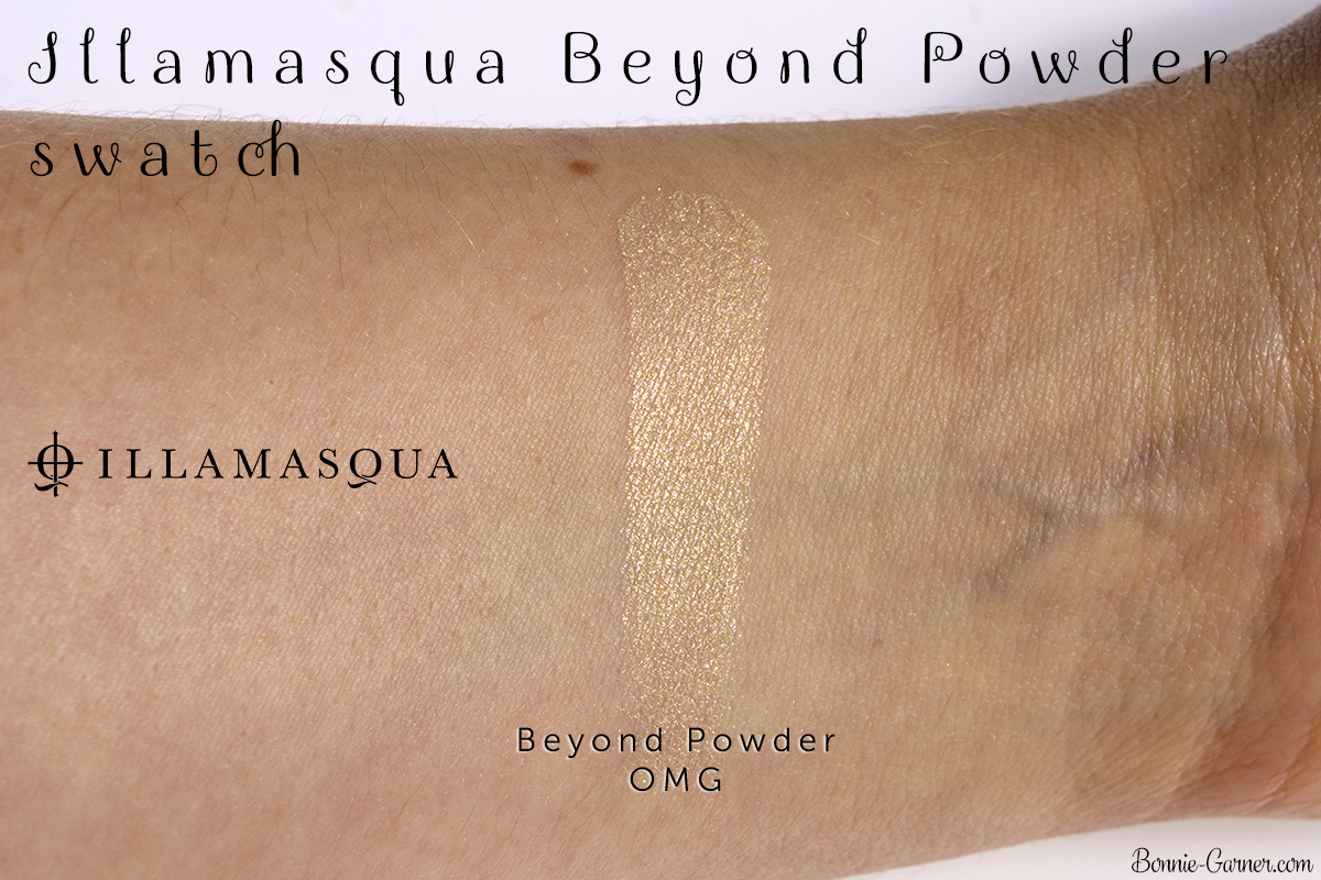 Illamasqua Beyond Powder OMG swatch