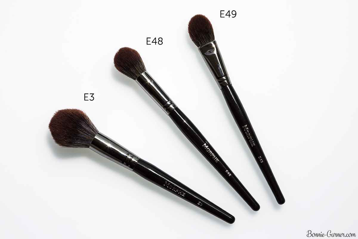 Morphe Brushes Elite 2 collection E48, E49, E3