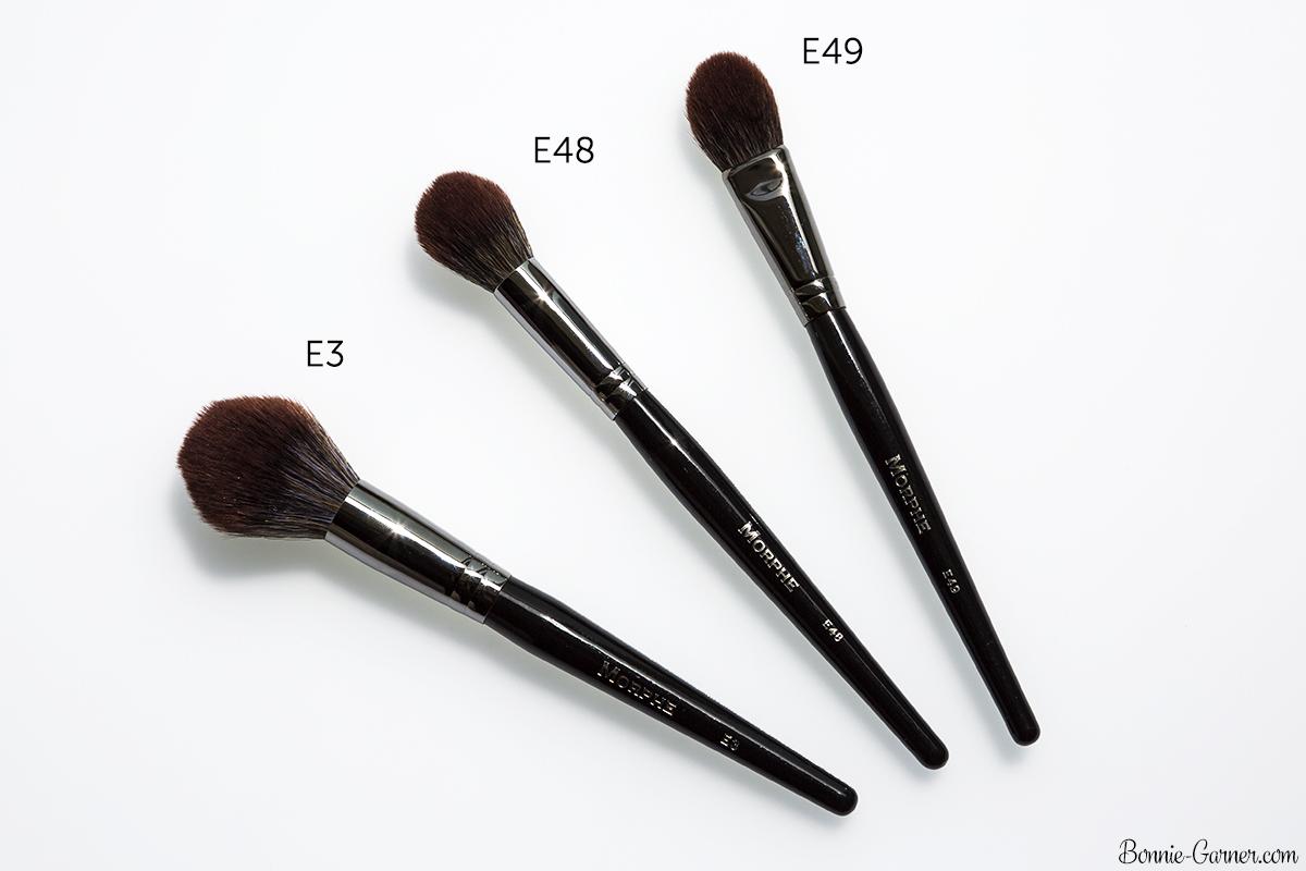Morphe Brushes Elite 2 collection E48, E49, E3