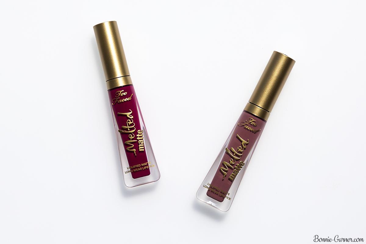 Too Faced Melted Matte liquid lipstick Queen B , Bend & Snap!