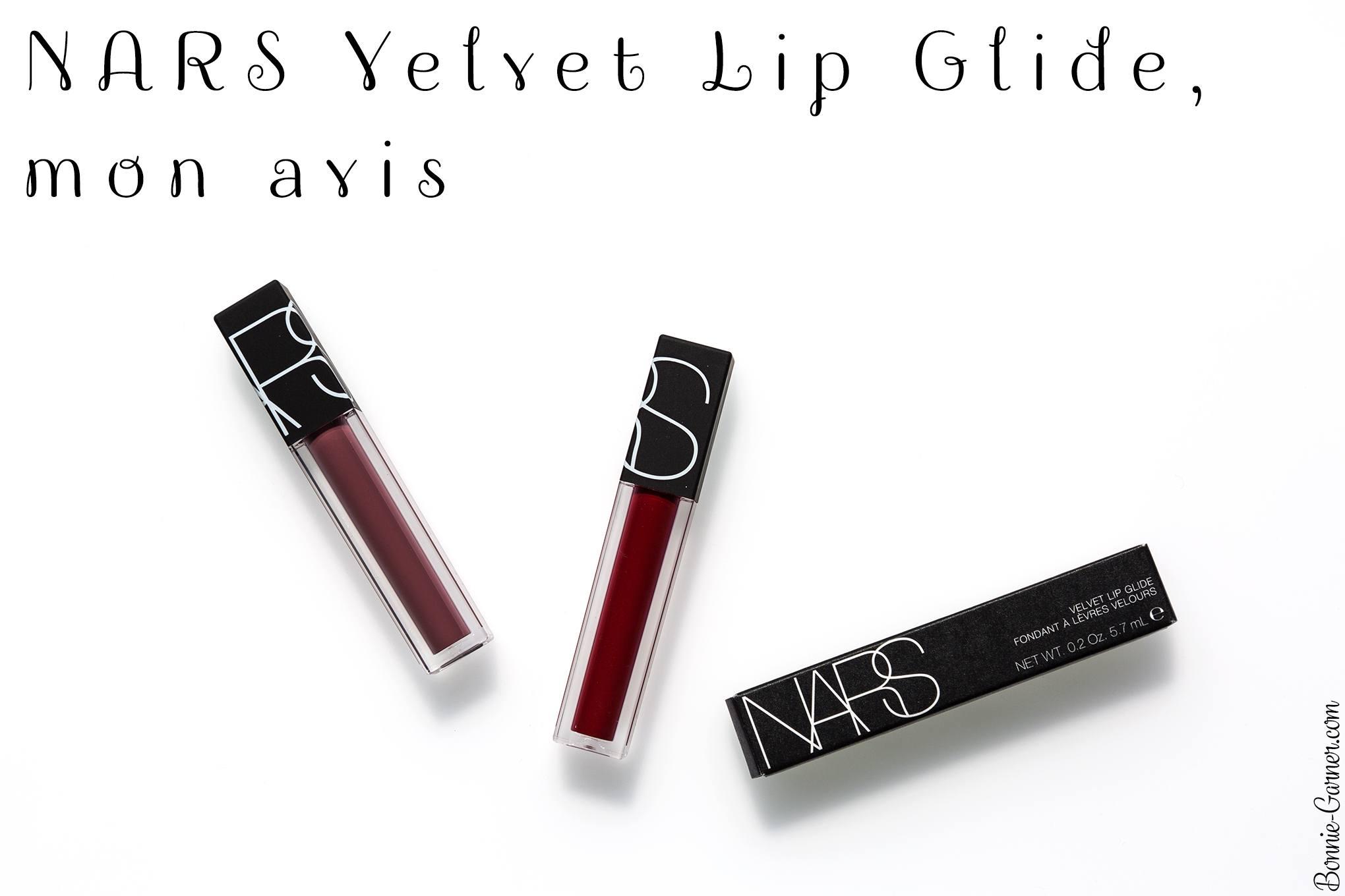 NARS Velvet Lip Glide, mon avis