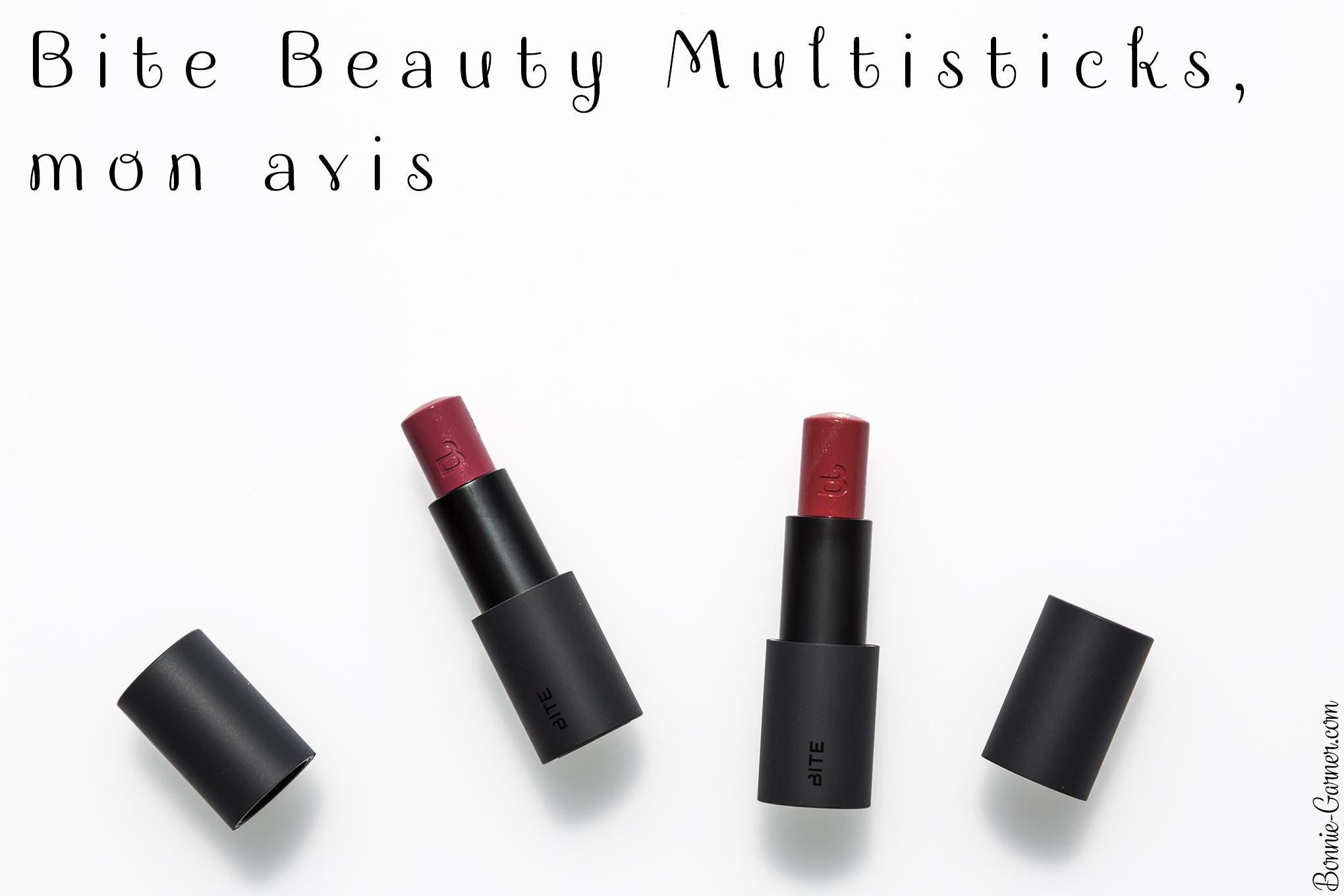 Bite Beauty Multisticks, mon avis