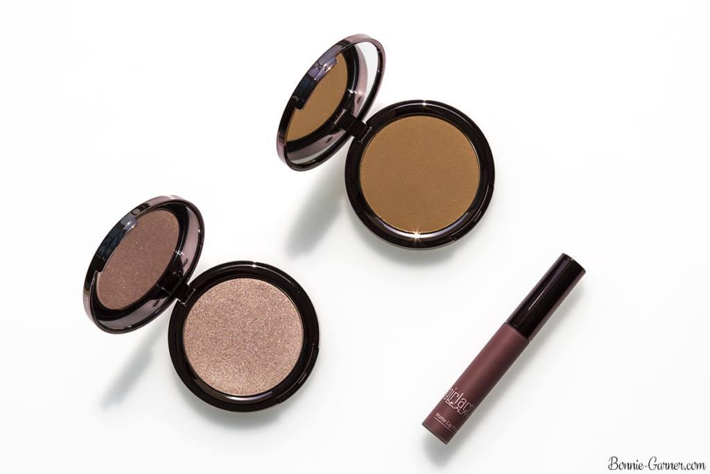 Girlactik Beauty Cabo Matte Bronzer, Lustre Face Glow, Divine Matte Lip Paint