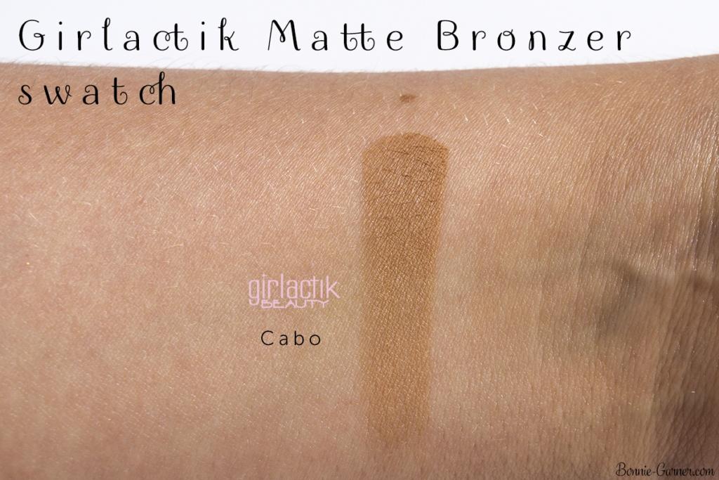 Girlactik Beauty Cabo Matte Bronzer swatch