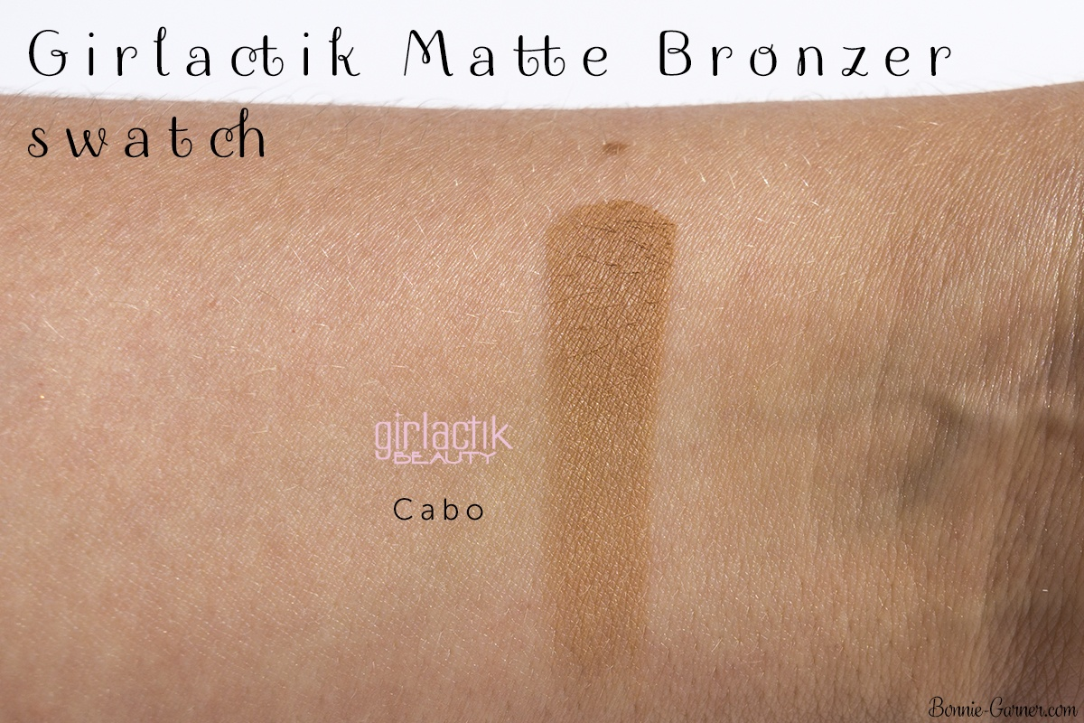 Girlactik Beauty Cabo Matte Bronzer swatch