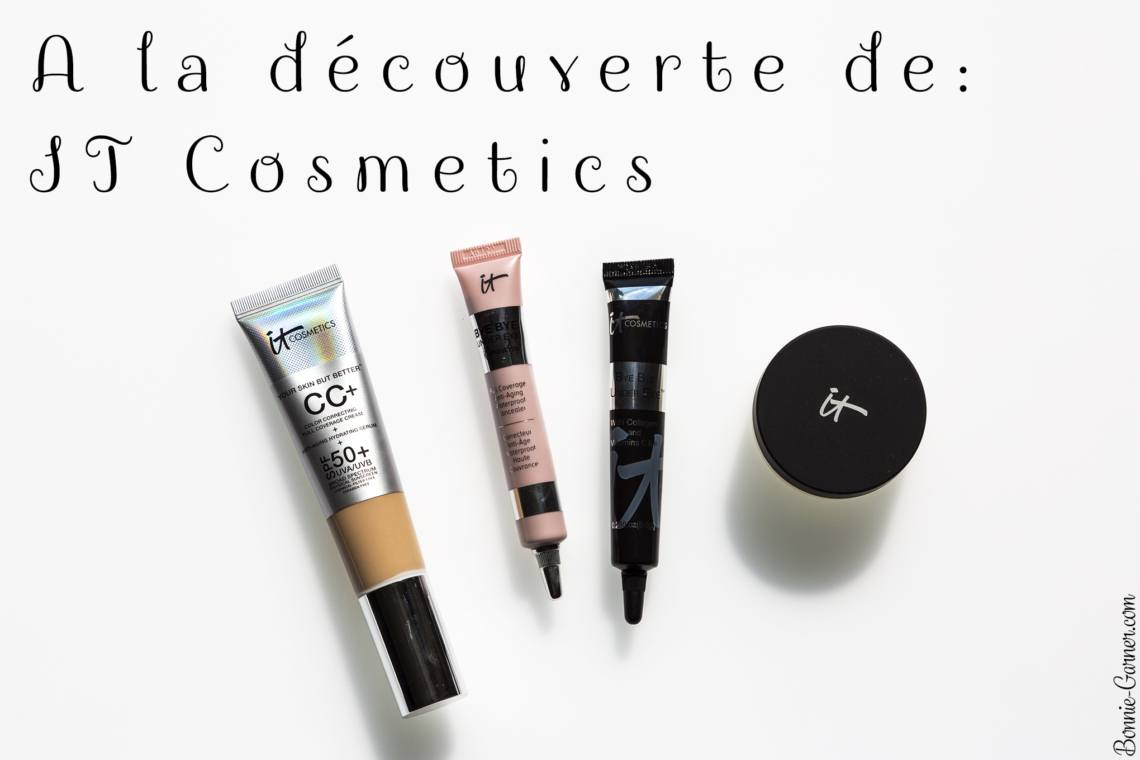 A la découverte de: IT Cosmetics