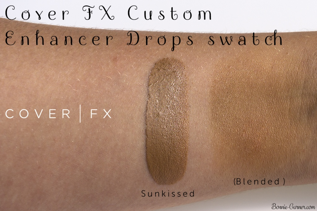 Cover FX Custom Enhancer Drops Sunkissed swatch