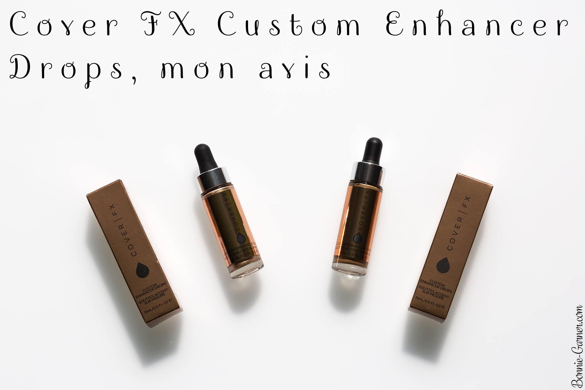 Cover FX Custom Enhancer Drops, mon avis