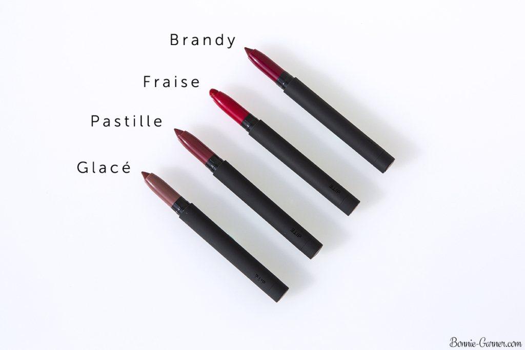 Bite Beauty Matte Crème Lip Crayon: Glacé, Pastille, Fraise, Brandy