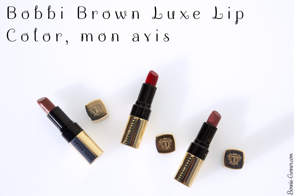 Bobbi Brown Luxe Lip Color, mon avis