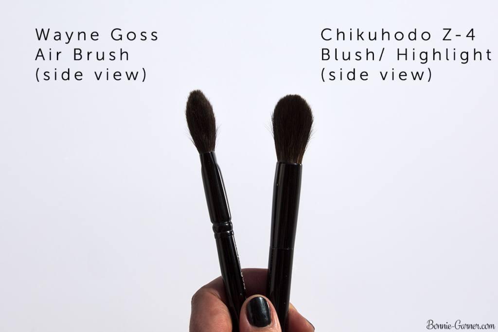 Chikuhodo Z4 Blush/Highlight brush, Wayne Goss The Air-Brush