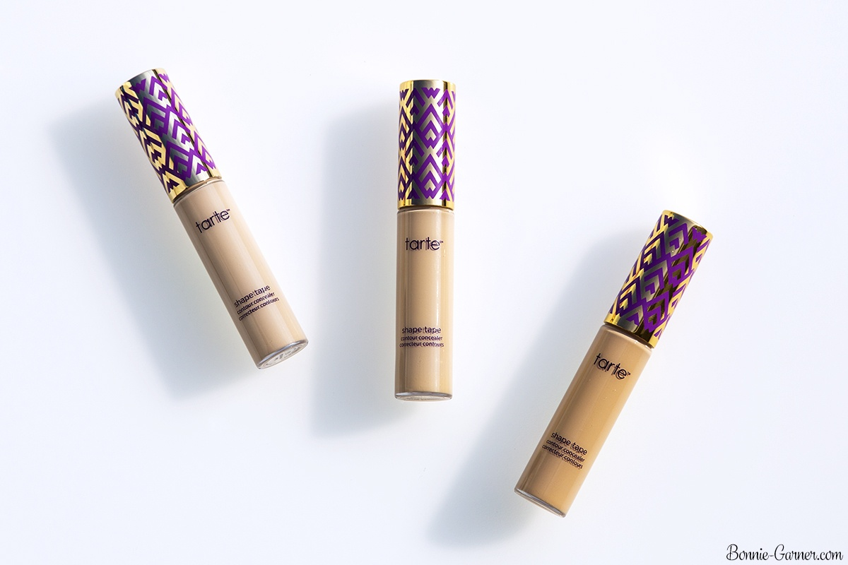 Tarte Shape Tape Contour concealer Fair Neutral, Light Sand, Light Neutral