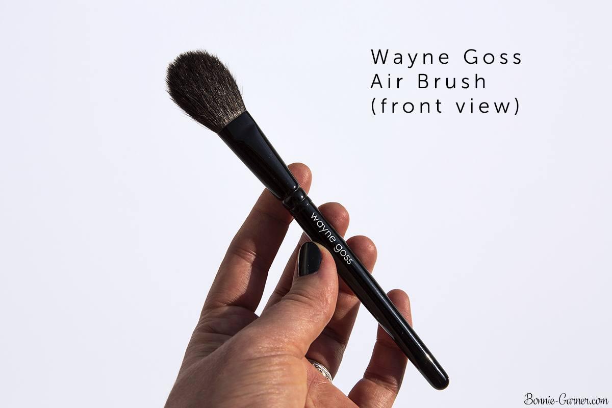 An introduction to Japanese makeup brushes: Wayne Goss The Air-Brush and Chikuhodo Z4 | Bonnie Garner – Skincare, makeup, nails