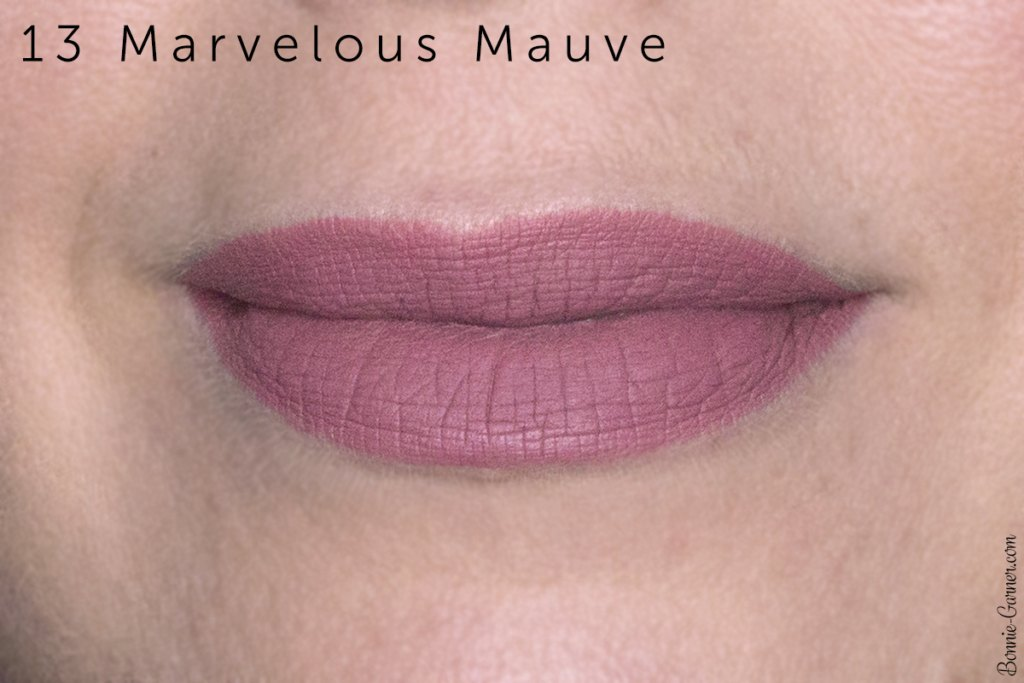 Sephora Cream Lip Stain lipsticks:13 Marvelous Mauve