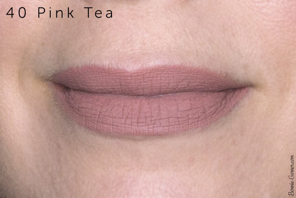 Sephora Cream Lip Stain lipsticks: 40 Pink Tea