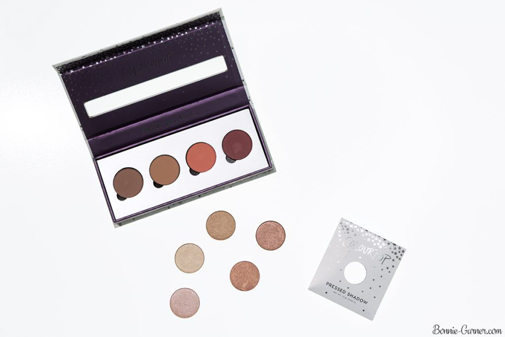 ColourPop Pressed Powder eyeshadows: Made To Last, Wake Up Call, Wait For It, Get Out, Let Me Explain, Liar Liar, You Know The Drill, High Strung, Come And Get It