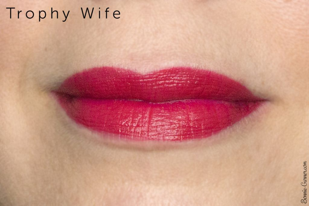 Makeup Geek Plush Creme liquid lipstick Trophy Wife