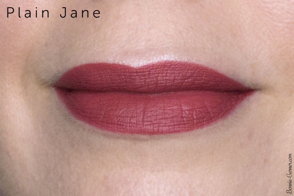 Makeup Geek Plush Matte liquid lipsticks Plain Jane