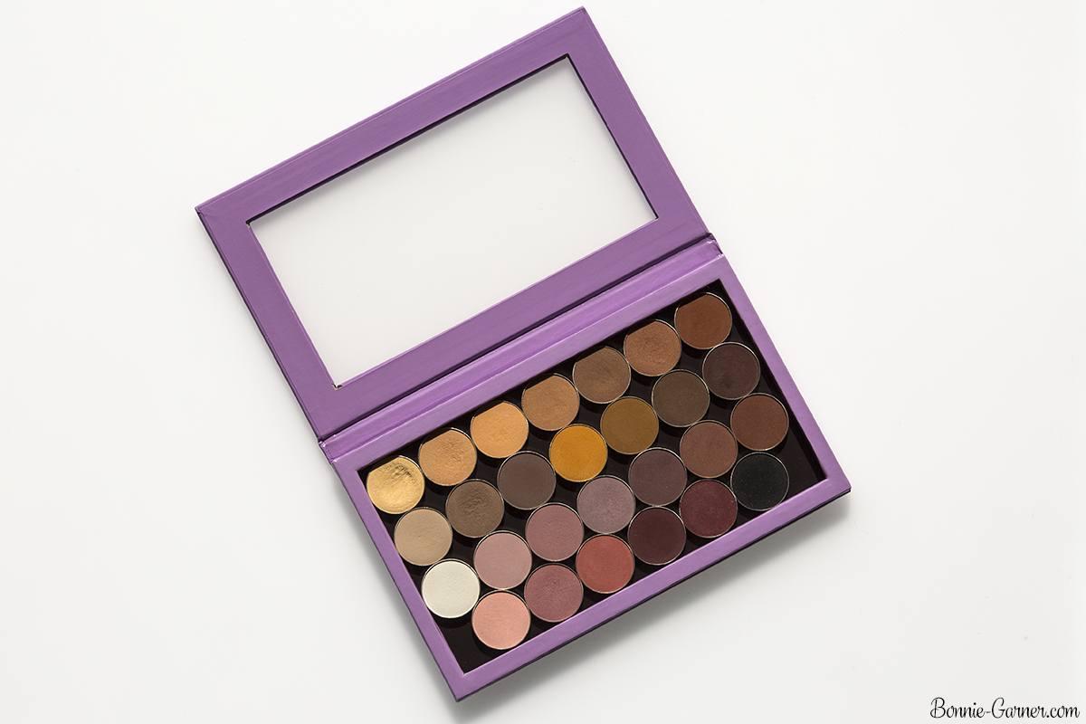 Makeup Geek neutral matte eyeshadows, Large ZPalette