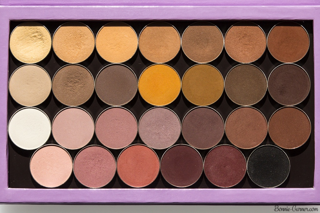 Makeup Geek neutral matte eyeshadows