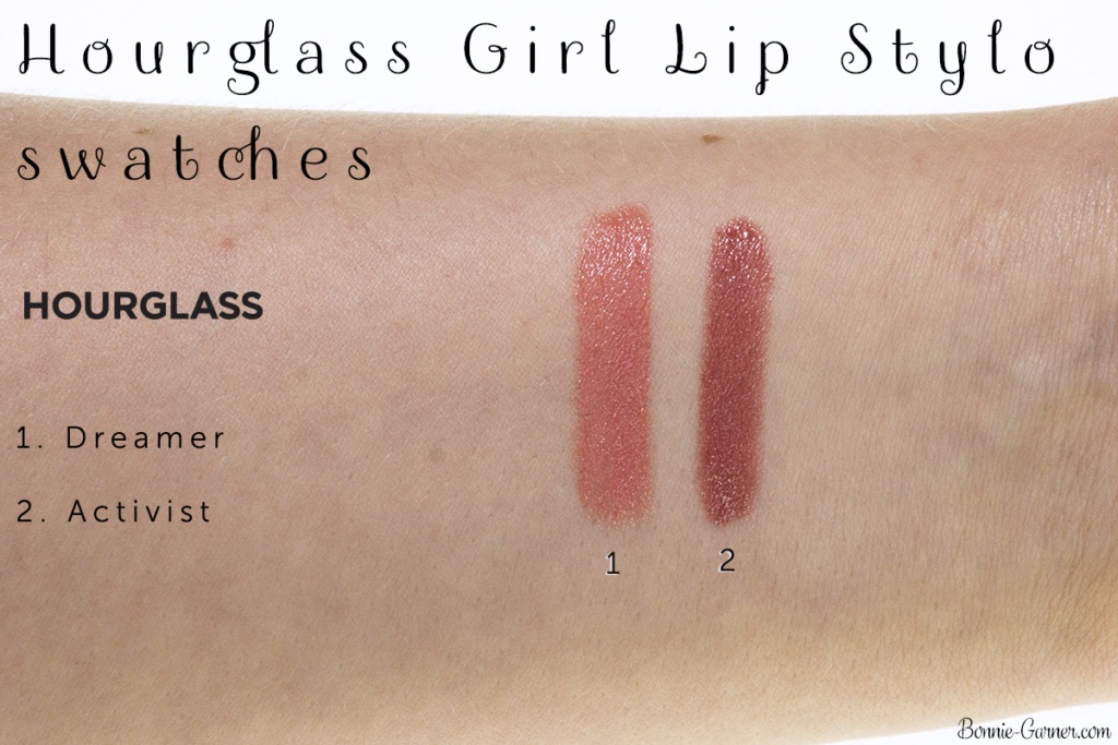 Hourglass Girl Lip Stylo lipstick: Activist, Dreamer swatches