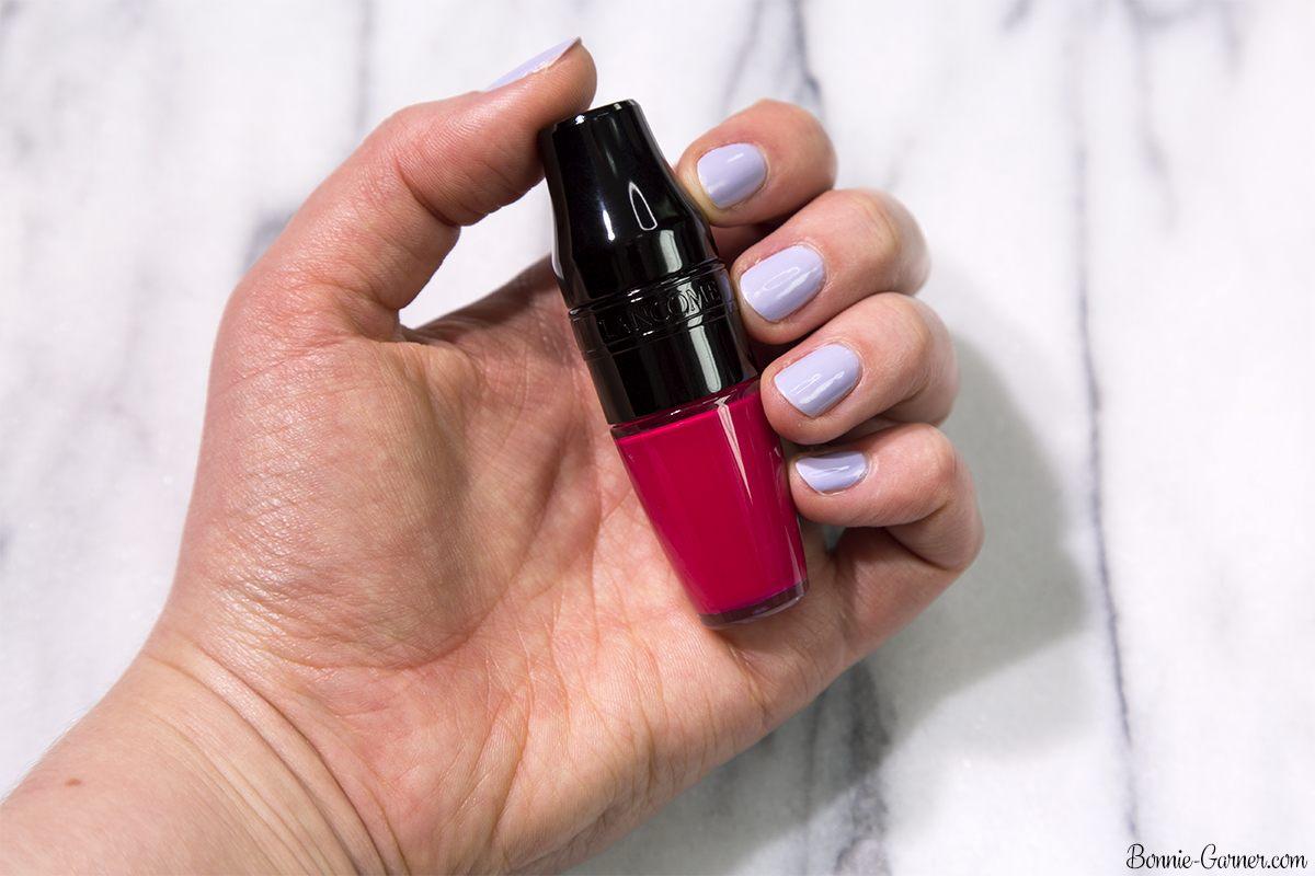 Lancôme Matte Shaker liquid lipstick: Pink Power 378